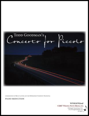 Piccolo Concerto - Piano Reduction, by Todd Goodman