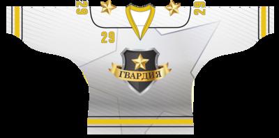 Хоккейный свитер белый