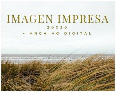 Imagen Impresa a 20x30 + Archivo digital.