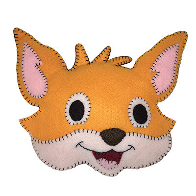 Crafty Fox Felt Friend