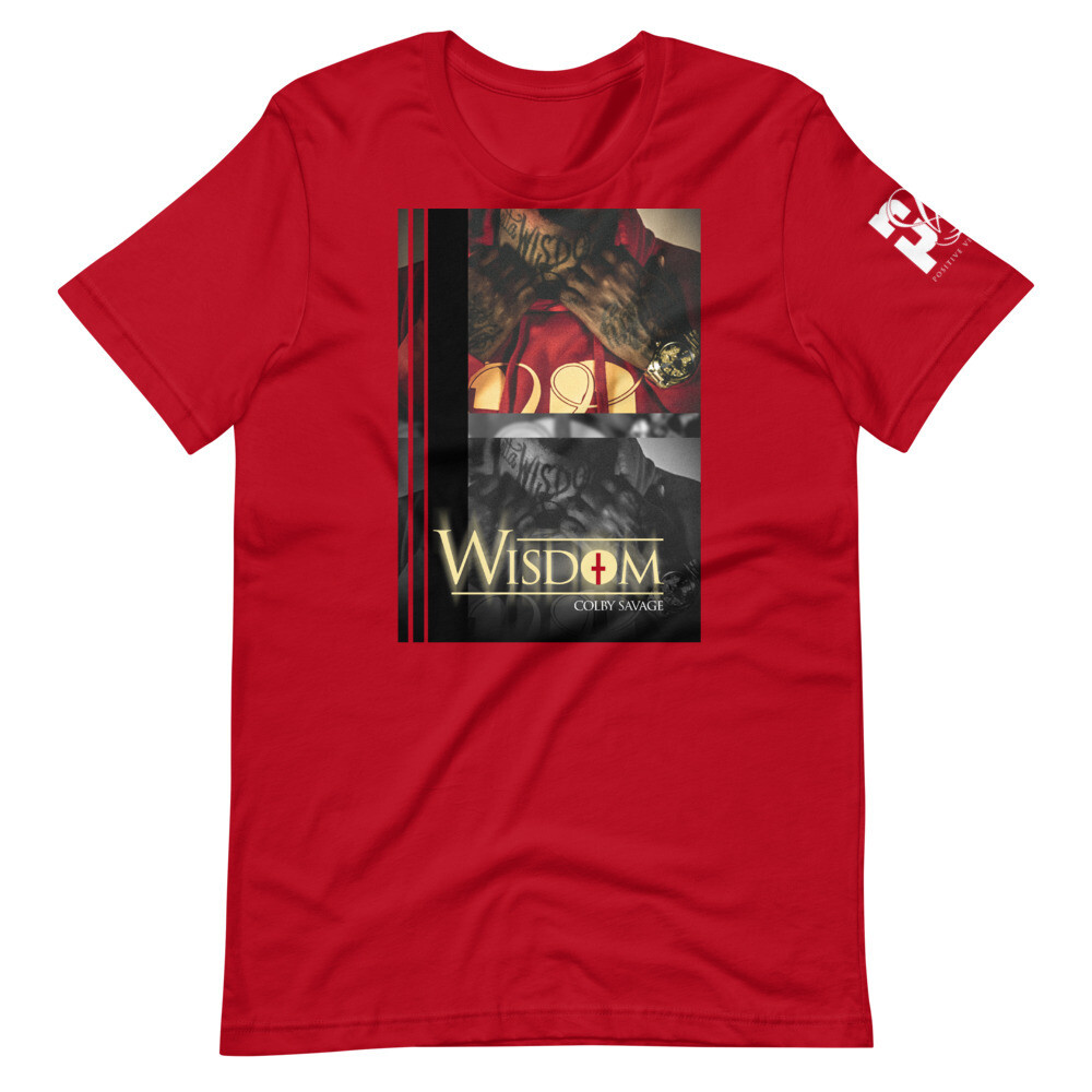 The Wisdom Album Stretch Tee RGB