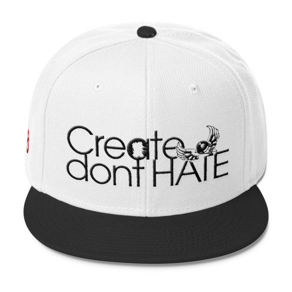 Create Dont HATE Snapback-Light