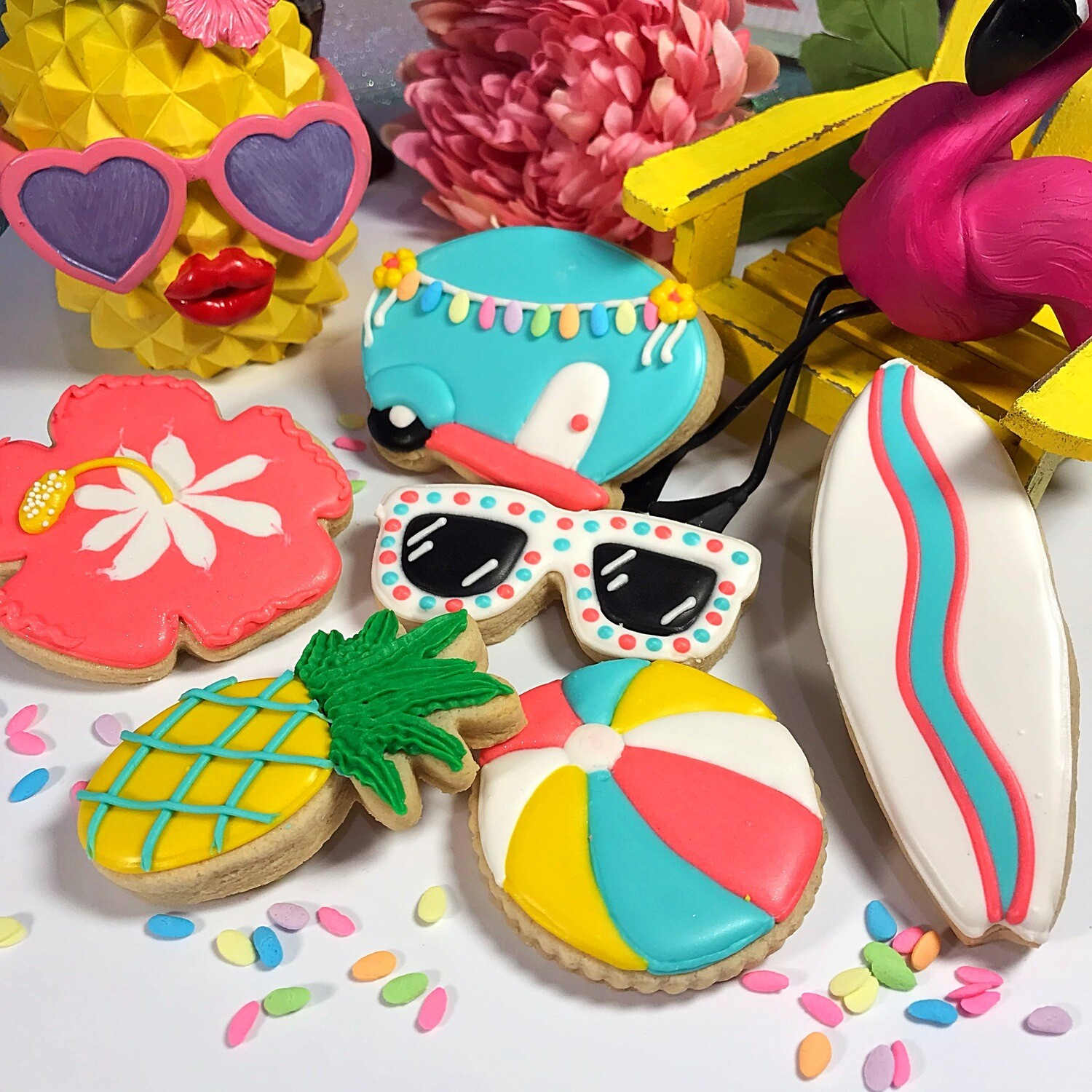 SUMMER TIME Decorating Workshop - TUESDAY, JUNE 18 at 6:30 p.m. (KIEPERSOL'S SALT KITCHEN) - CHILD TICKET (Age 6-12+)