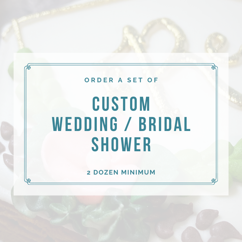 BRIDAL SHOWER / WEDDING (2 DOZEN)
