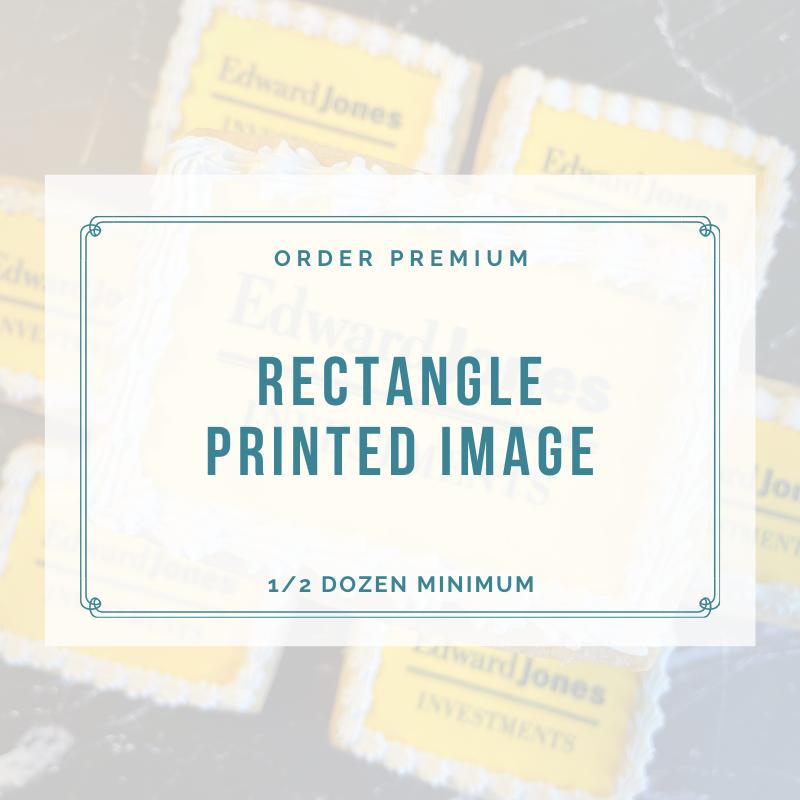 RECTANGLE - PRINTED IMAGE / LOGO