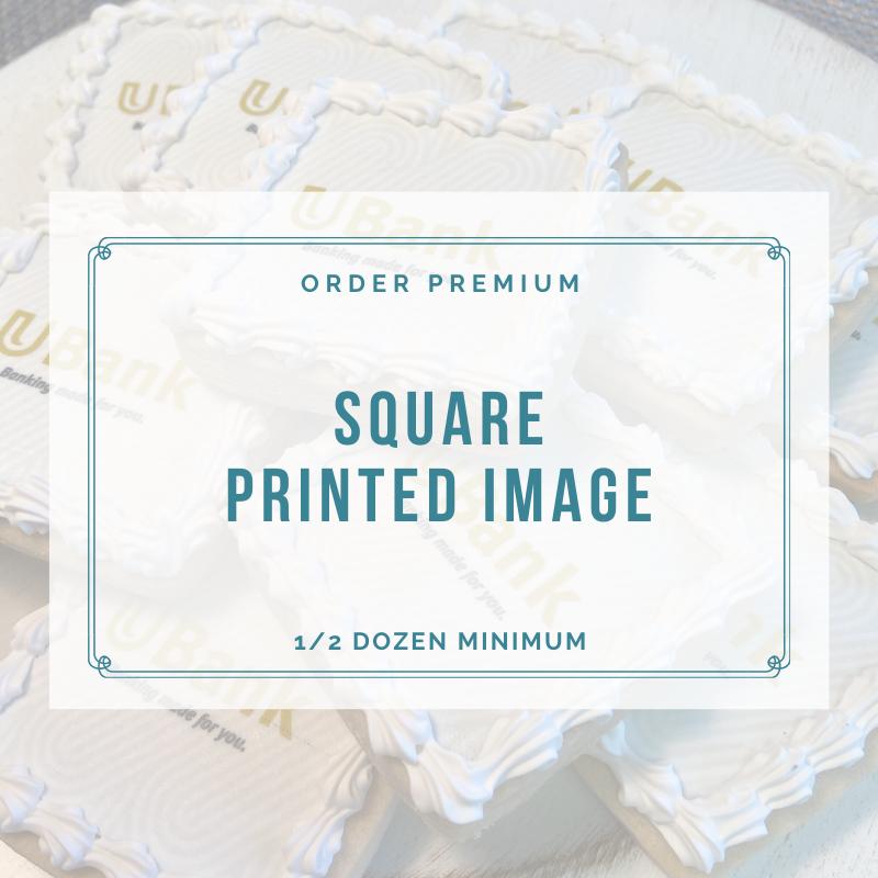 SQUARE - PRINTED IMAGE / LOGO