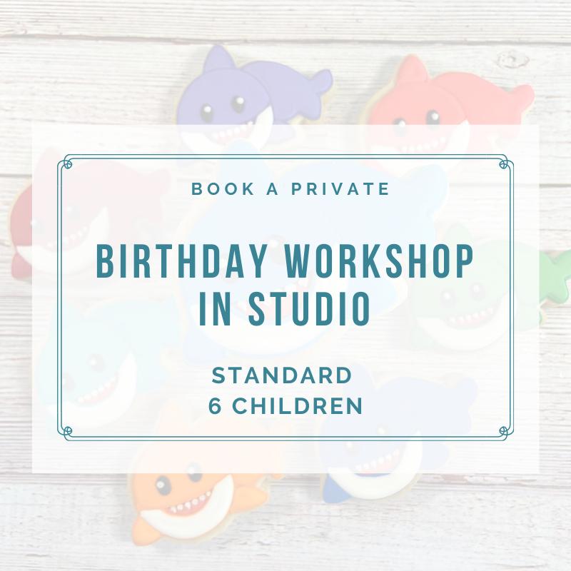 STANDARD BIRTHDAY IN STUDIO (6 Children) DEPOSIT