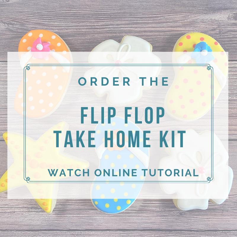 'Flip Flop Take Home Kit - Watch Online Tutorial