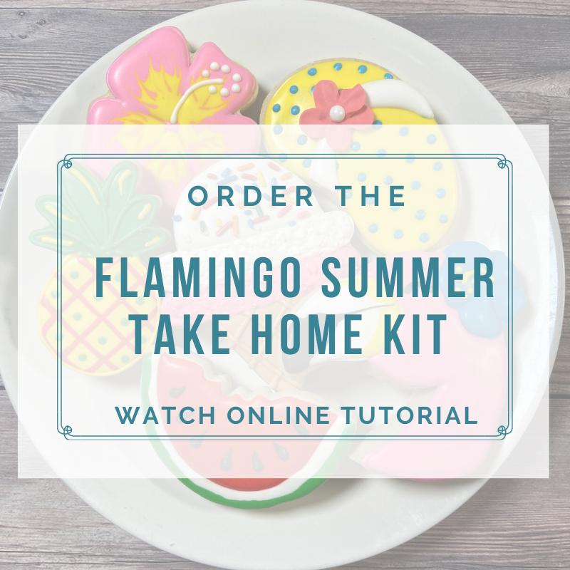 'Flamingo Summer Take Home Kit - Watch Online Tutorial