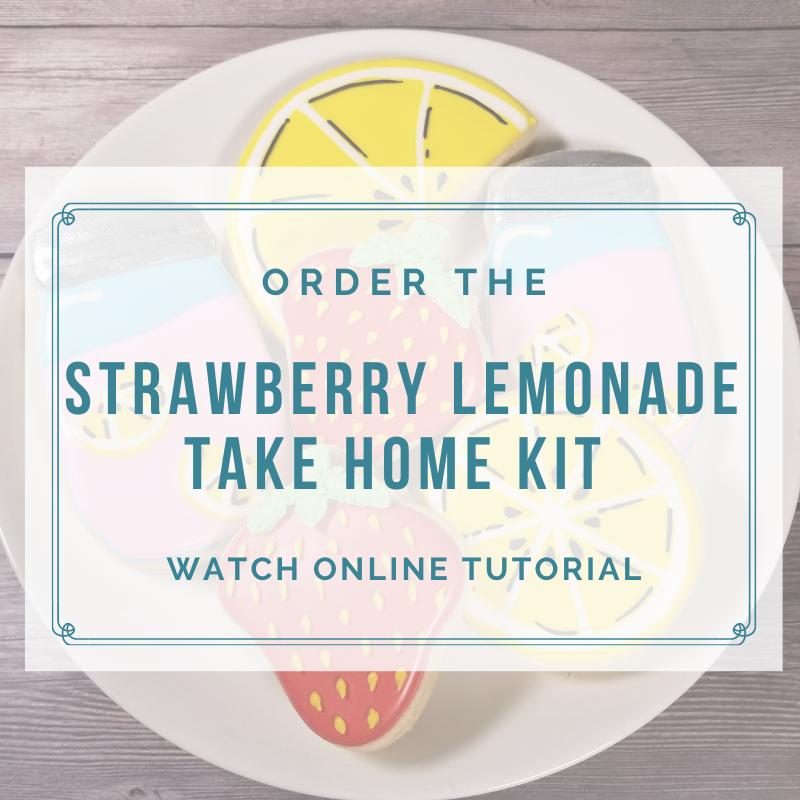 'Strawberry Lemonade Take Home Kit - Watch Online Tutorial