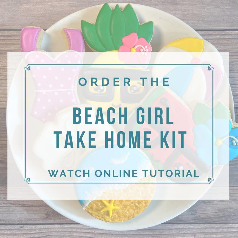 'Beach Girl Take Home Kit - Watch Online Tutorial