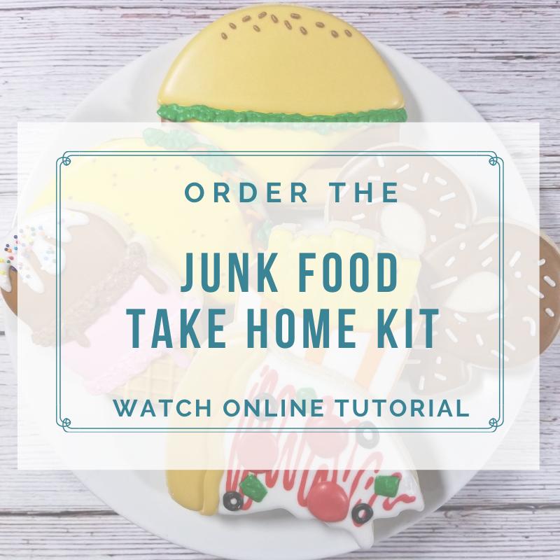 'Junk Food Take Home Kit - Watch Online Tutorial