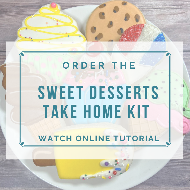 'Sweet Desserts Take Home Kit - Watch Online Tutorial