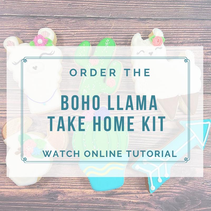'Boho Llama Take Home Kit - Watch Online Tutorial
