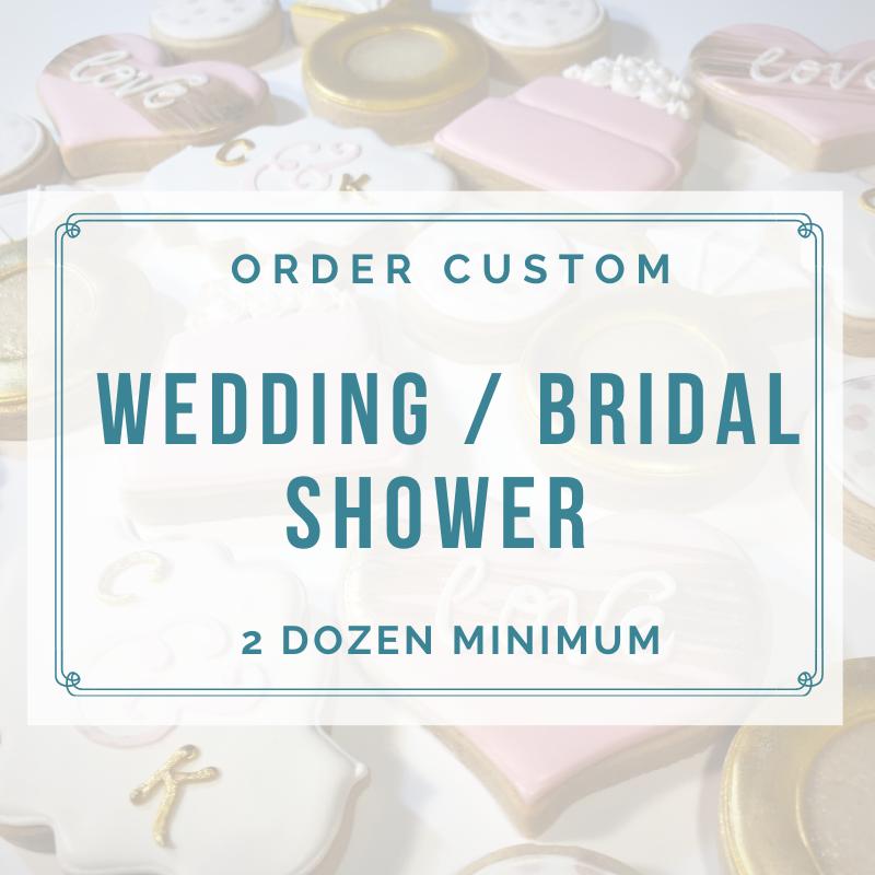 WEDDING / BRIDAL SHOWER (2 DOZEN)