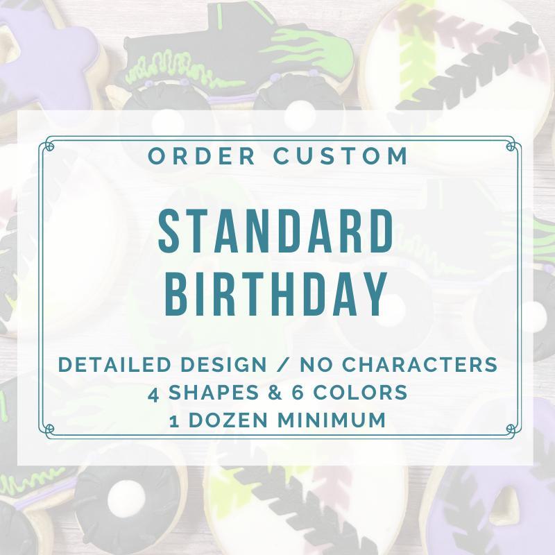 BIRTHDAY STANDARD CUSTOM (1 DOZEN)