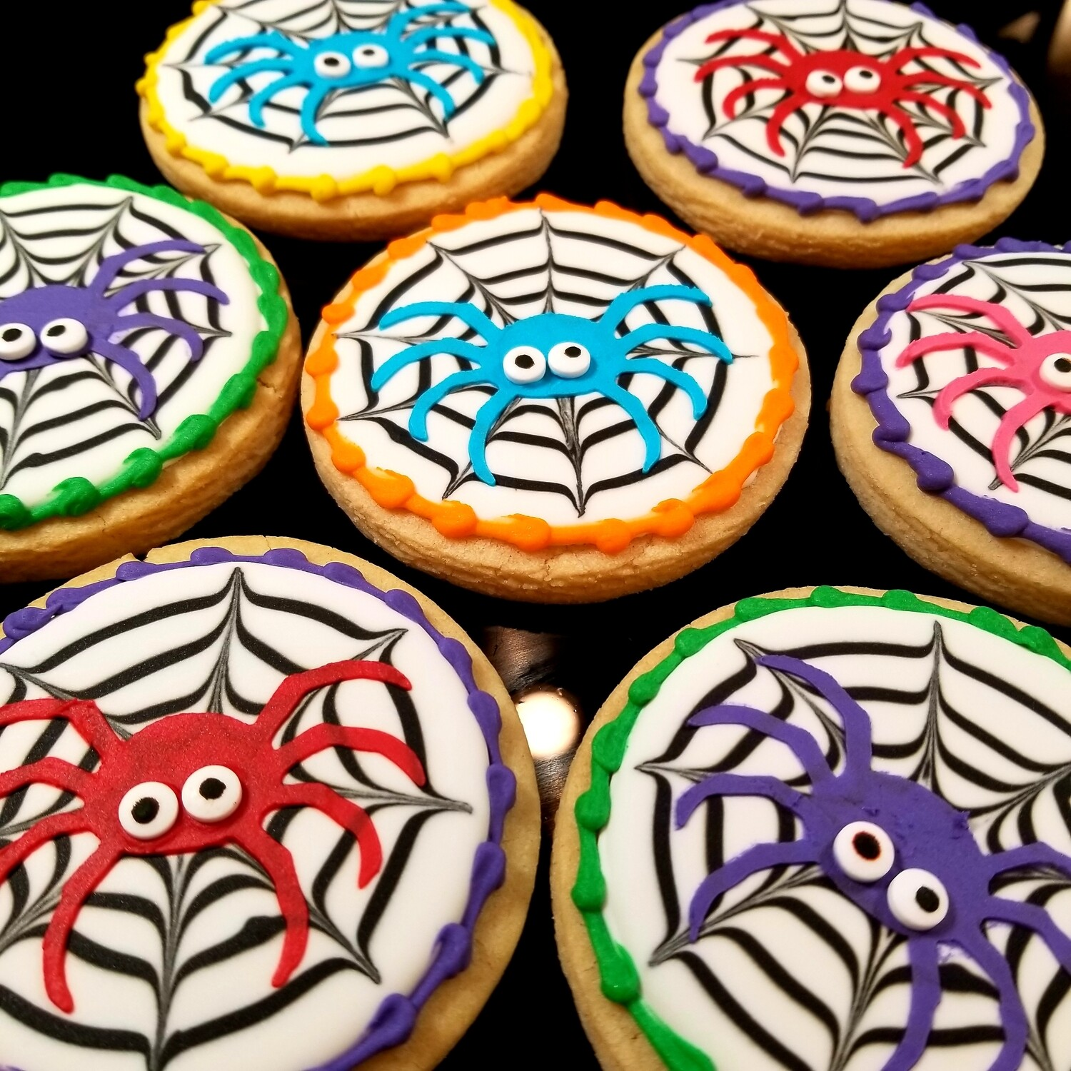 GOOGLY EYED SPIDERS SET