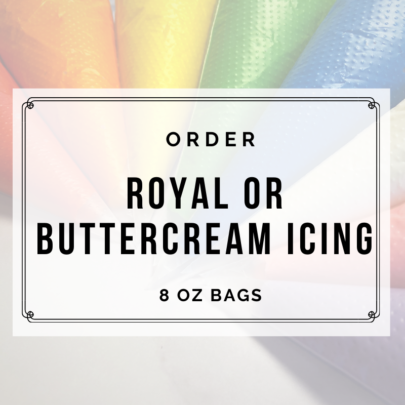 ROYAL OR BUTTERCREAM ICING