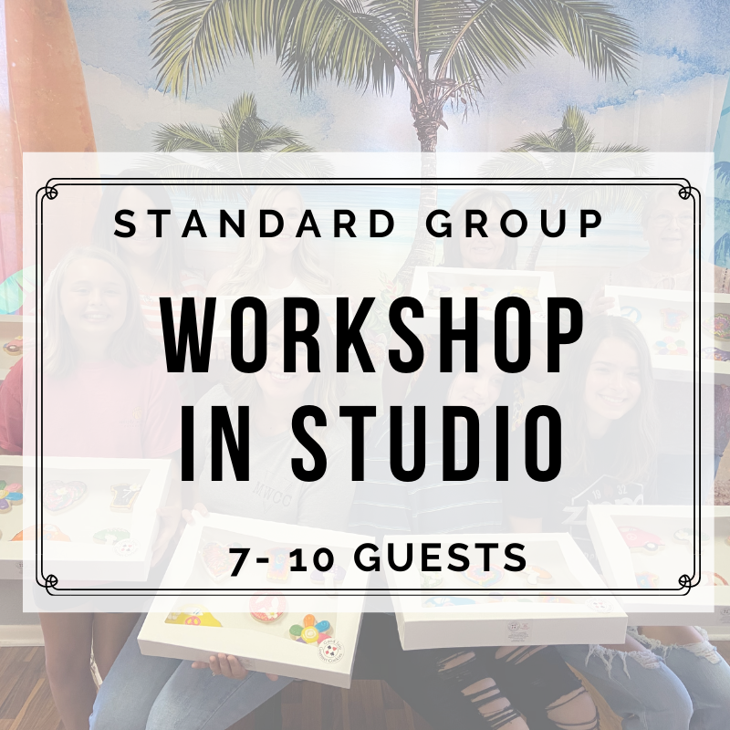 STANDARD PRIVATE GROUP IN STUDIO (7-10 Guests) DEPOSIT