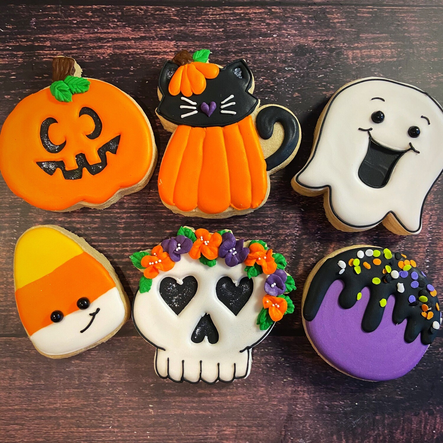 'Fun Spooks Decorating Workshop - FRIDAY, OCTOBER 16th at 7:00 p.m. (THE COOKIE DECORATING STUDIO)