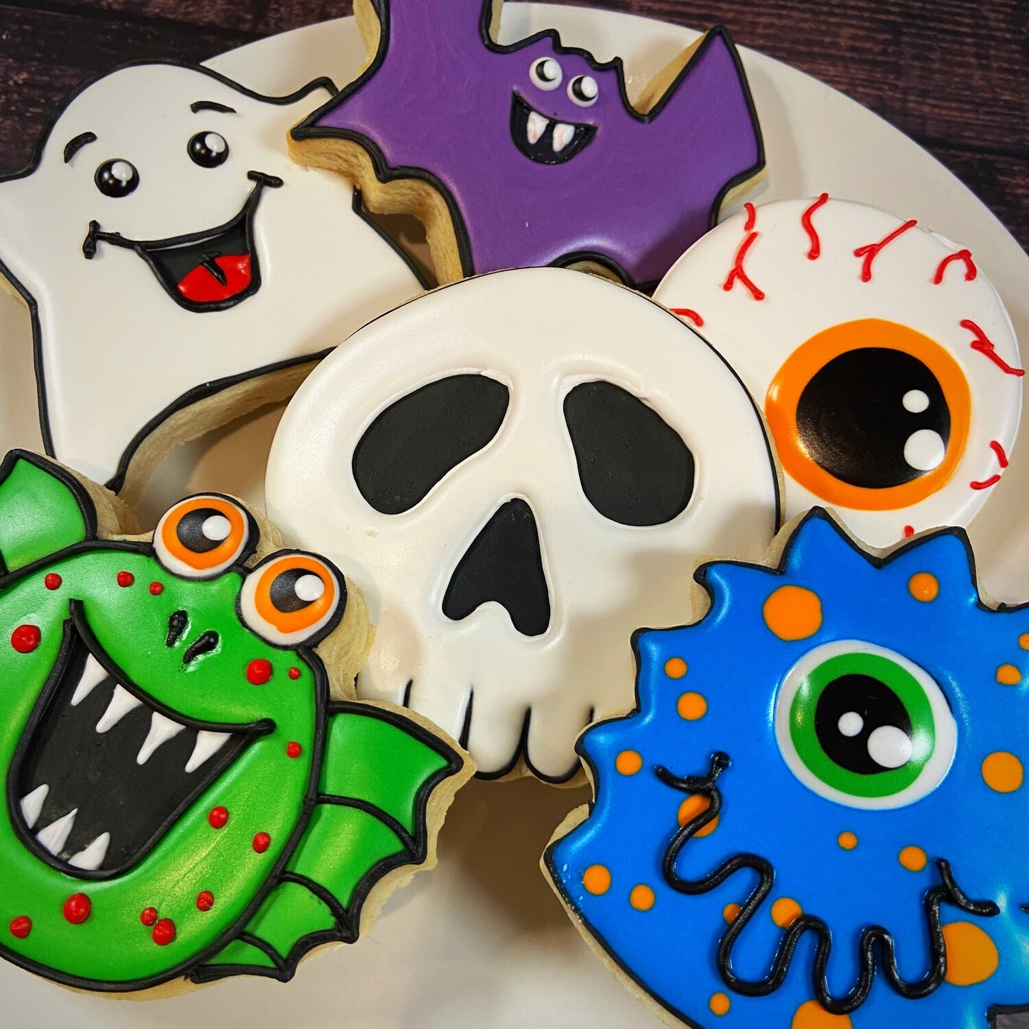 'Monsters Decorating Workshop - SATURDAY, OCTOBER 24th at 7 p.m. (THE COOKIE DECORATING STUDIO)
