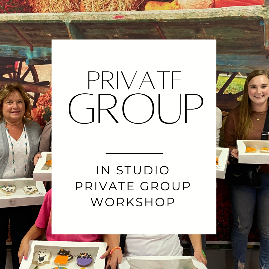 PRIVATE GROUP IN STUDIO (4-15 Guests) DEPOSIT