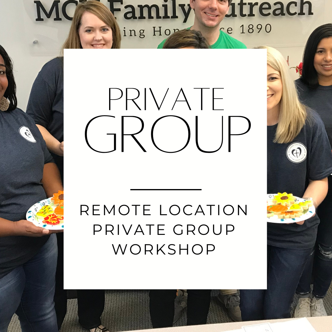 PRIVATE GROUP DECORATING WORKSHOP (6-15 Guests)