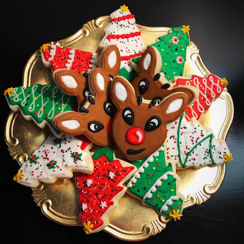 'Rudolph Decorating Workshop - SATURDAY, NOVEMBER 28th at 6:30 p.m. (THE COOKIE DECORATING STUDIO)