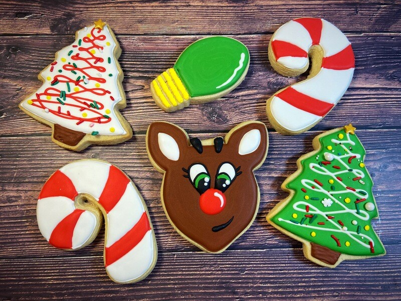 'Rudolph Christmas Decorating Workshop - THURSDAY, DECEMBER 17th at 6:30 p.m. (THE COOKIE DECORATING STUDIO)
