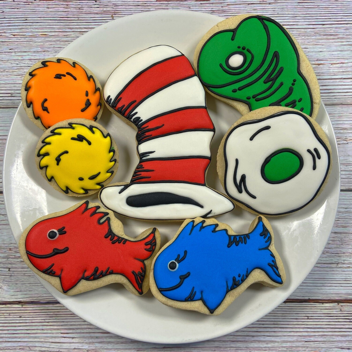 'DR. SEUSS Decorating Workshop - SUNDAY, AUGUST 8th at 4 p.m. (THE COOKIE DECORATING STUDIO)