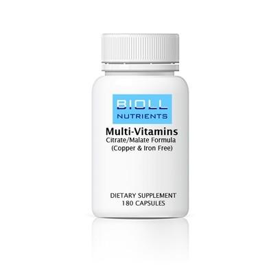 Multi-Vitamins (No Copper & Iron)