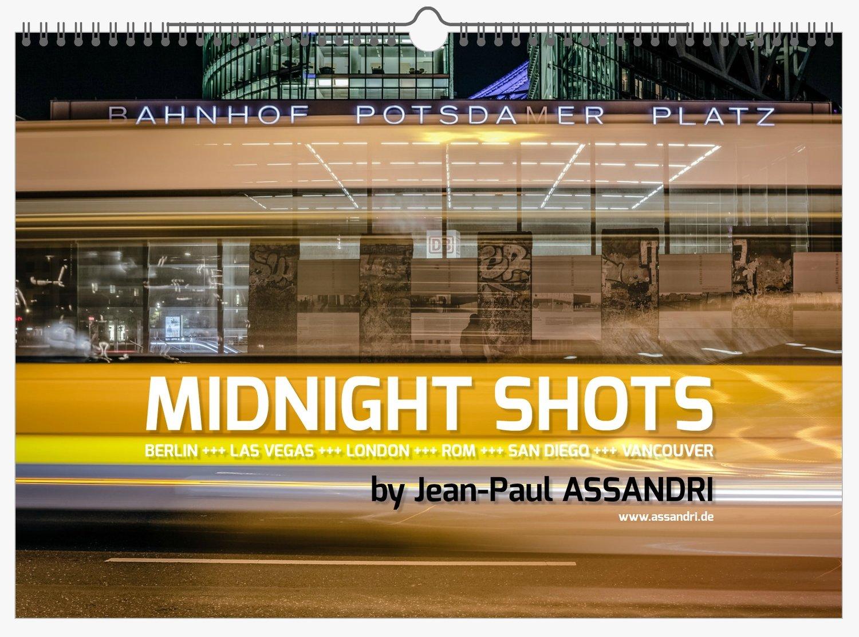 MIDNIGHT SHOTS - Kalender für 2020