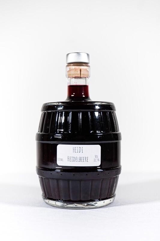 Heidi Heidelbeere Cocktailfässchen