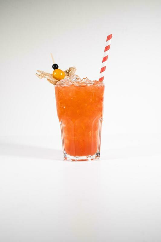 Paradiesvogel Cocktailfässchen