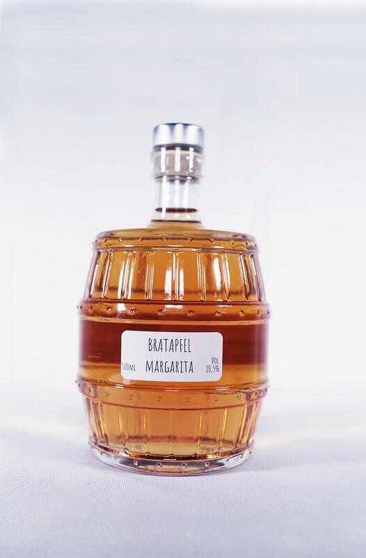 Bratapfel Margarita Cocktailfässchen
