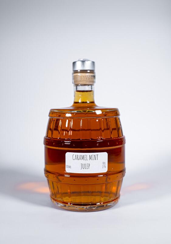 Caramel Mint Julep Cocktailfässchen