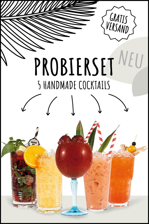 Probierset - 5 Cocktails à 0,15l