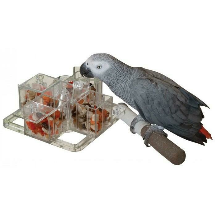 4 Corners Cage Mount Foraging Toy