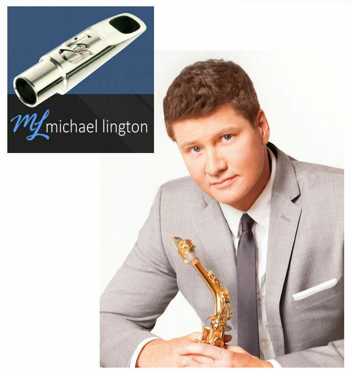 The Official Michael Lington Alto Mouthpiece by Oleg with Olegature