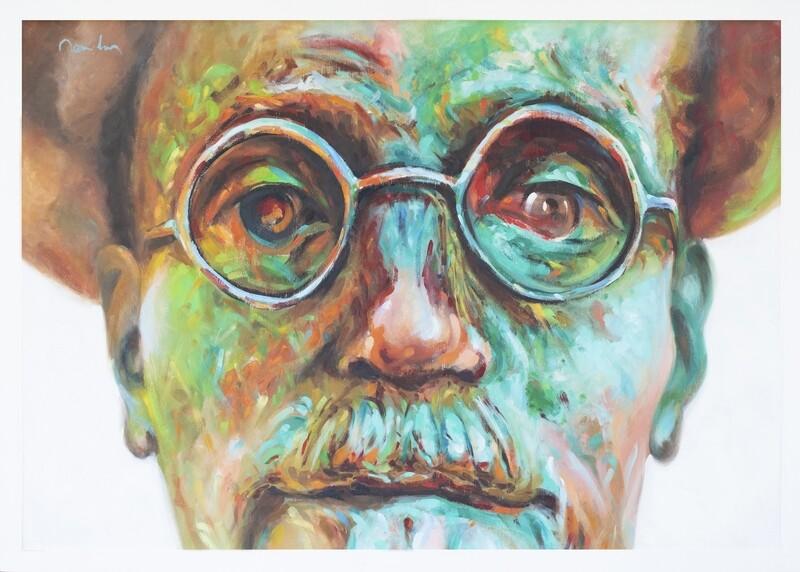 A Portrait of a Sculpted Artist