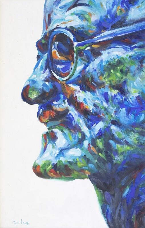 Sideways Blue Joyce