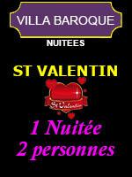 Saint Valentin 2021 (Pour 2 personnes) - Villa Baroque