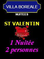 Saint Valentin 2021 (Pour 2 personnes) - Villa Boréale