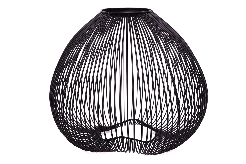 Black Wire Mollusc Lamp Shade