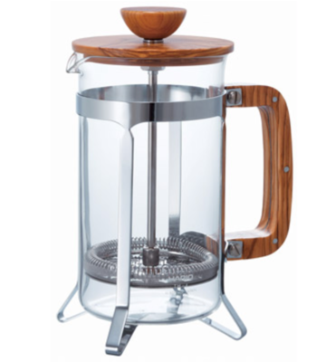Hario Cafe Press Wood Handler 600ml French Press
