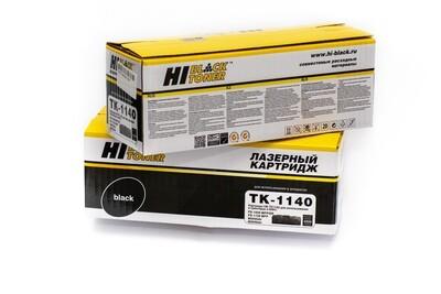 Картридж Hi-Black (HB-TK-1140) для Kyocera FS-1035MFP/DP/1135MFP/M2035DN, 7,2K