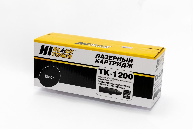 Картридж Hi-Black (HB-TK-1200) для Kyocera M2235/2735/2835/P2335, 3K