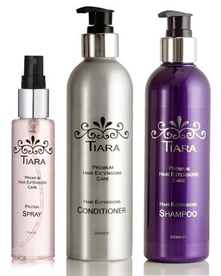 Tiara Extension Care Combo-I (Shampoo + Conditioner + Protein Spray)