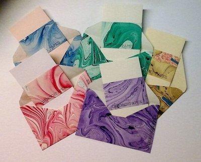 Marbled Envelopes