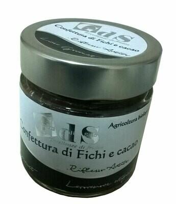 Confettura di pere e Cioccolato Fondente BIOLOGICA 230 g